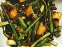 Spinach and tofu stir fry