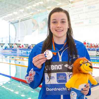 Amelia Clynes - Day 2 - 200m butterfly - medal