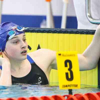 Amelia Clynes - Day 5 - 50m butterfly semi-final