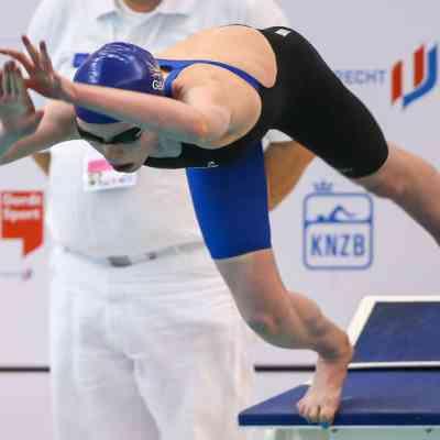 Georgia Coates - Day 1 - 400m individual medley final - start