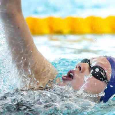 Georgia Coates - Day 5 - 200m individual medley final- backstroke leg